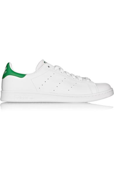 Adidas Originals Stan Smith Low-top Leather Trainers In White Multi