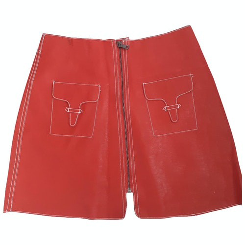 Pre-owned Stevie May Red Skirt