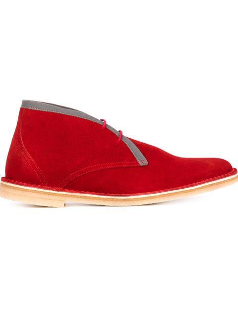 Pierre Hardy Contrast Trim Desert Boots
