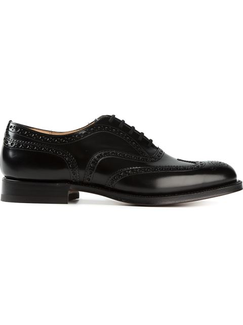 Church's Brogue Oxford Shoes In Black