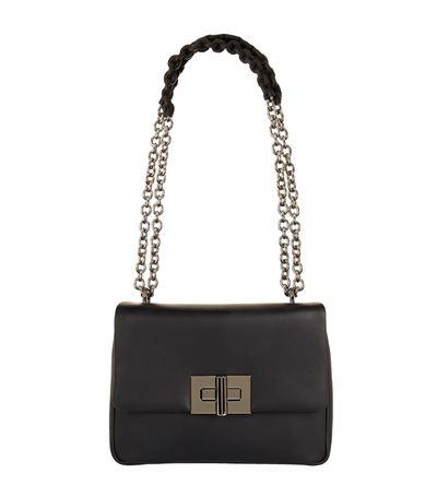 Tom Ford Medium Natalia Leather Shoulder Bag In Black