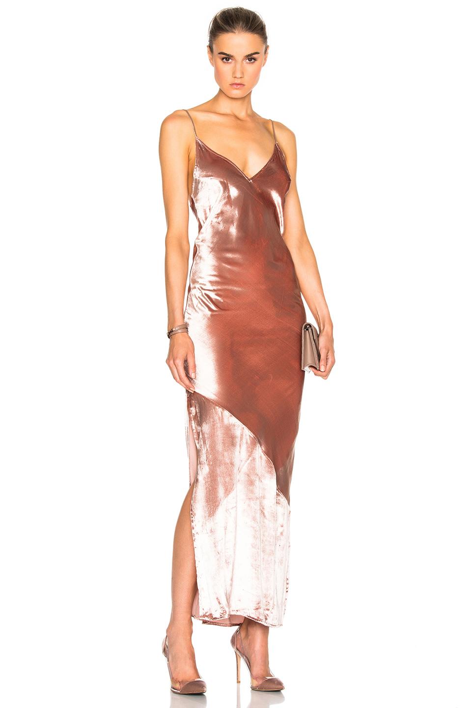 9af41a4d0894c Fleur Du Mal Velvet Slip Dress In Pink | ModeSens
