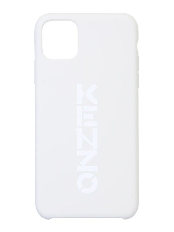 Kenzo Logo Print Iphone 11 Pro Max Case In White