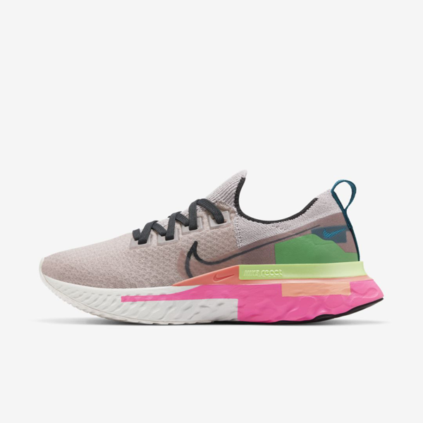 Nike React Infinity Run Flyknit Premium Women's Running Shoe (violet Ash) - Clearance Sale In Blush