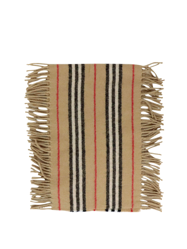 Burberry Kids' Icon Scarf In Beige