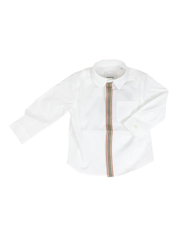 Burberry Kids' Silverton Mini Shirt In White