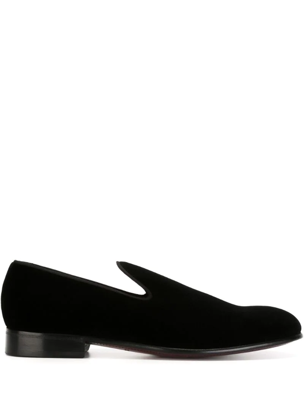 Dolce & Gabbana Classic Slippers In Black