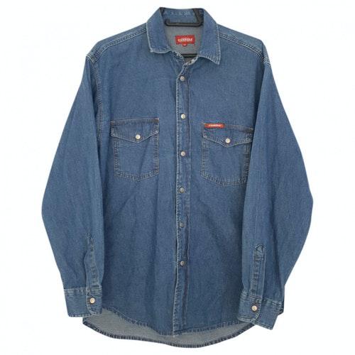 Pre-owned Carrera Blue Denim - Jeans Shirts
