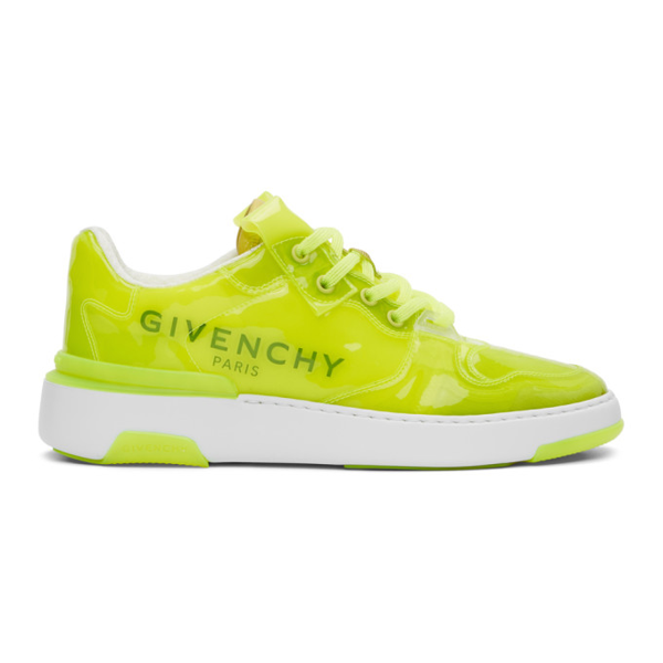 Givenchy Wing Transparent Sneakers In 734-fluo Ye