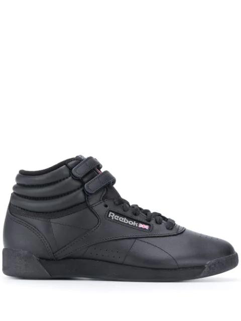 Ba&sh X Reebok Freestyle High-top Sneakers In Black