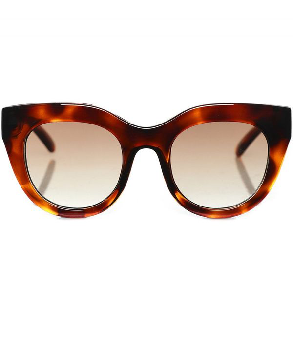Le Specs Air Heart Sunglasses Colour: Brown