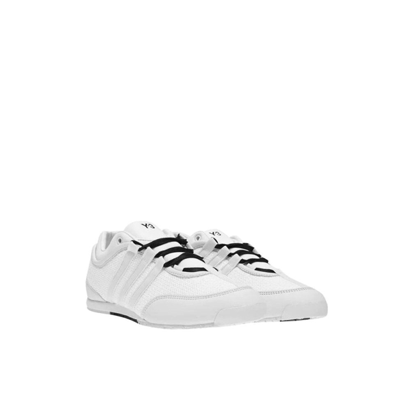 Y-3 Boxing Prime-knit Mesh Trainers Colour: White