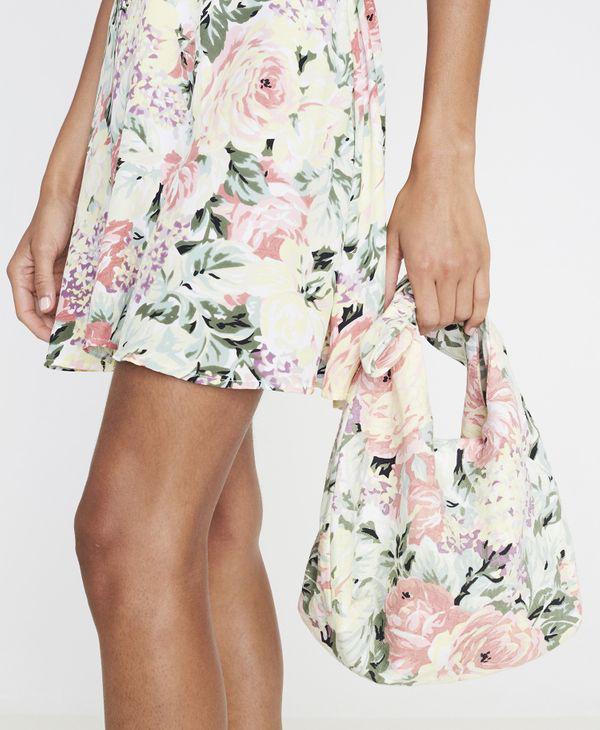 Faithfull The Brand Faithfull Mini Hanna Tote Bag Venissa Floral In Multi