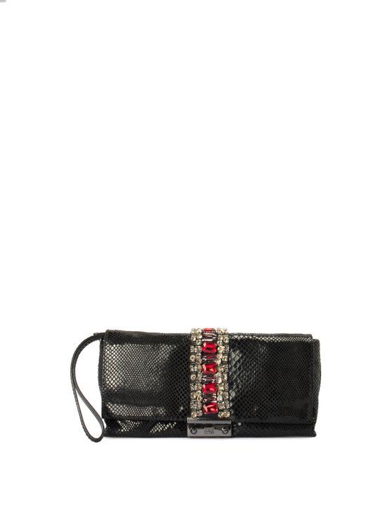 Cavalli Class Red Carpet Bag In Black