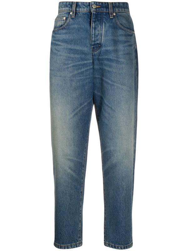 Ami Alexandre Mattiussi 5-pocket Straight-leg Jeans In Blue