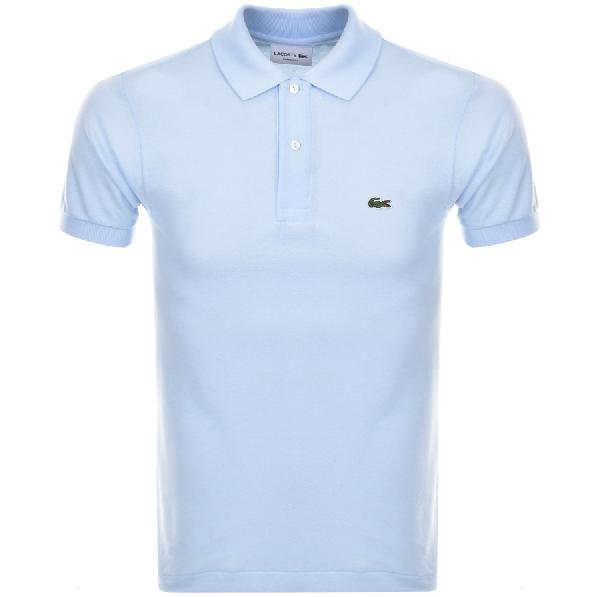 Lacoste Cotton-PiquÉ Polo Shirt - Light Blue In Mist