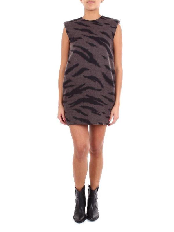 Philosophy Women's Grey Wool Dress