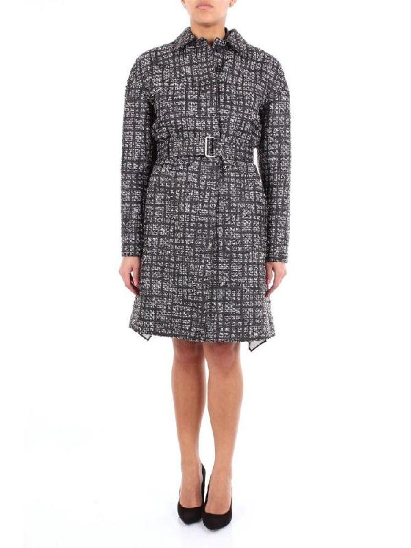 Philosophy Women's Grey Viscose Coat