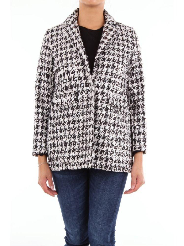 So Allure Women's Black Wool Blazer