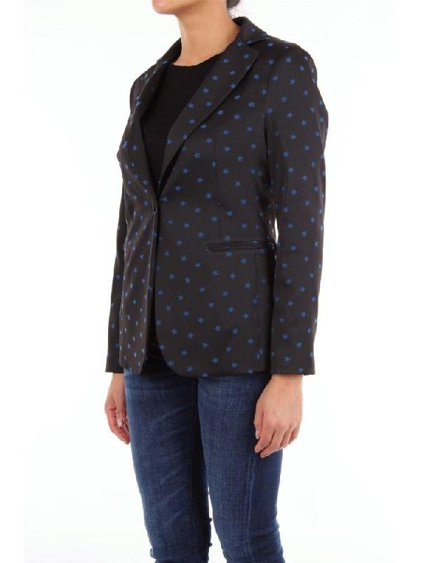 So Allure Women's Black Polyester Blazer