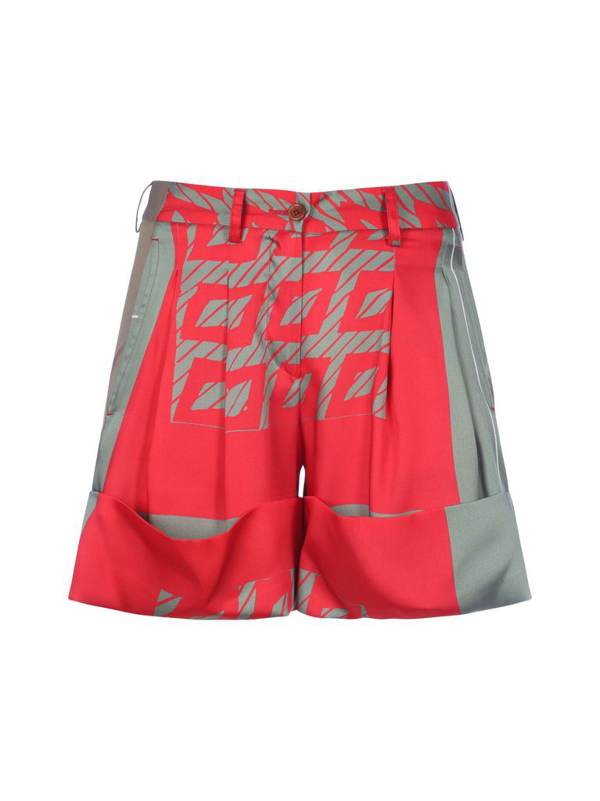 Jejia Double Textile Short In Grey