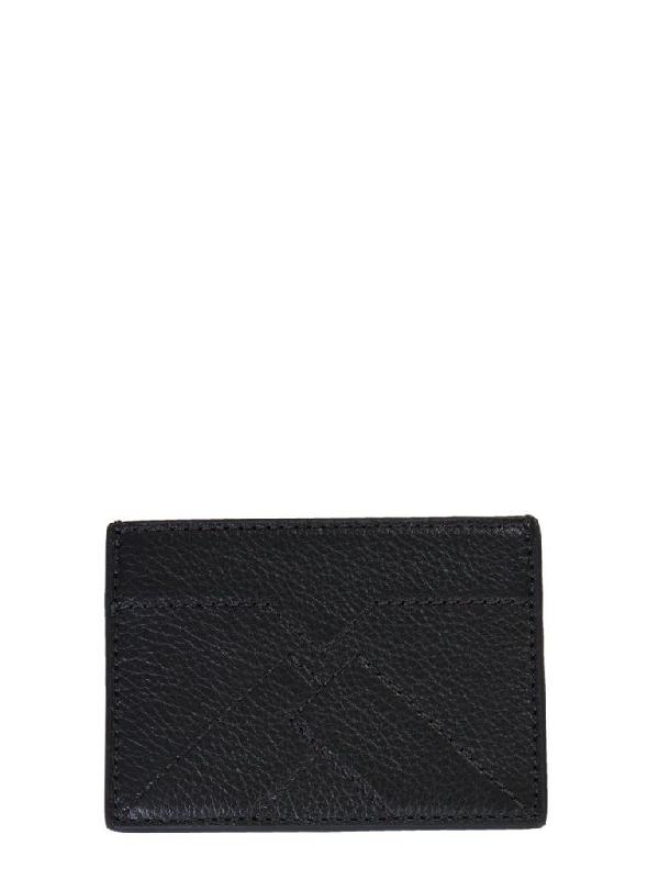 Kenzo Men's Black Leather Card Holder