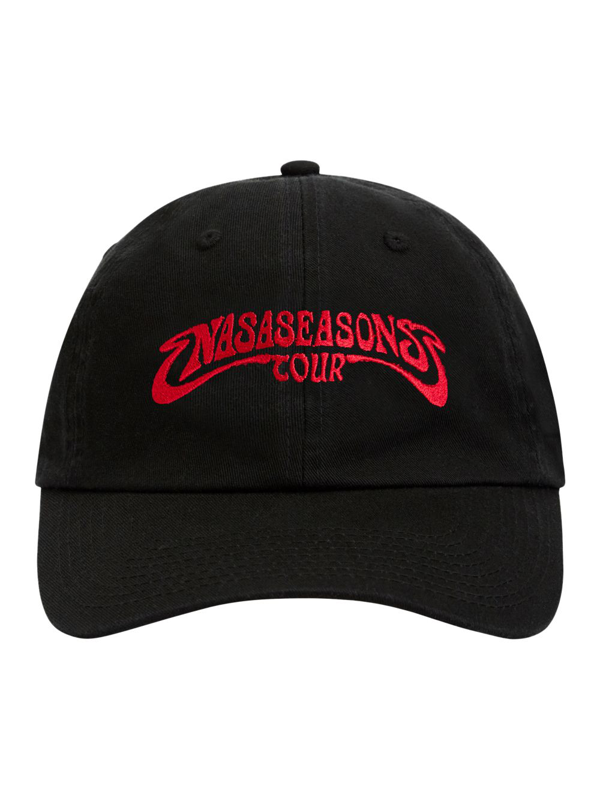 Nasaseasons Groovy Tour Cap In Black
