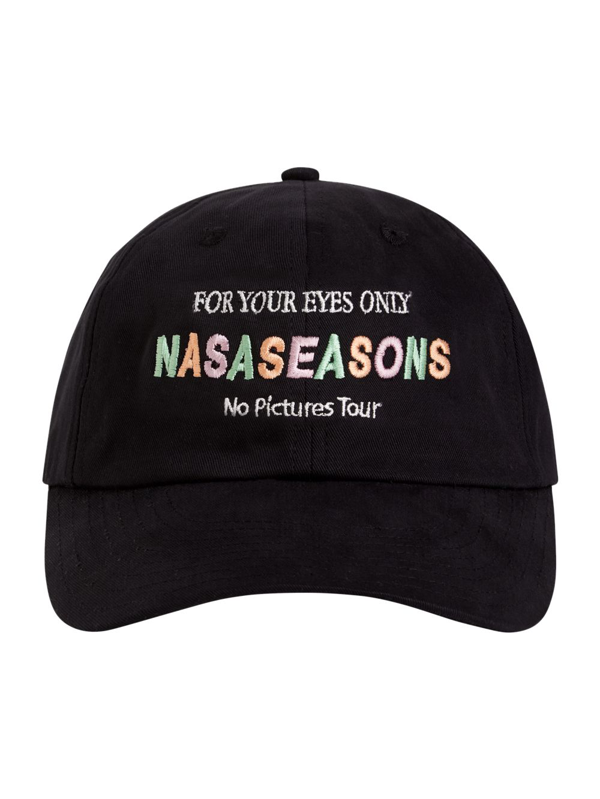 Nasaseasons For Your Eyes Only Cap In Black