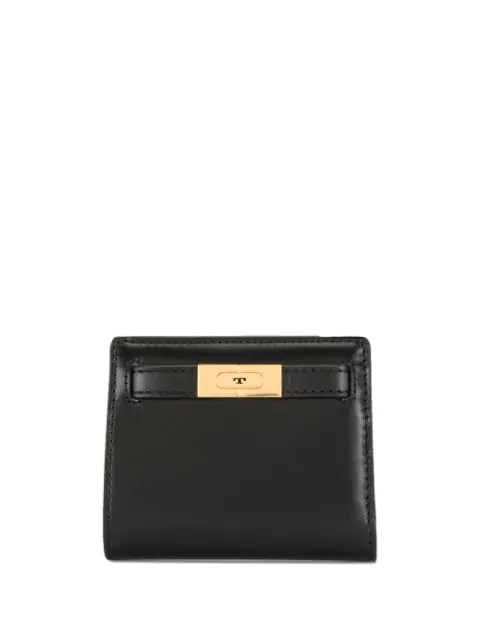 Tory Burch Lee Radziwill Mini Wallet In Black