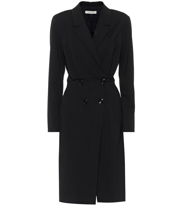 Dorothee Schumacher Emotional Essence Tailored Dress In Black