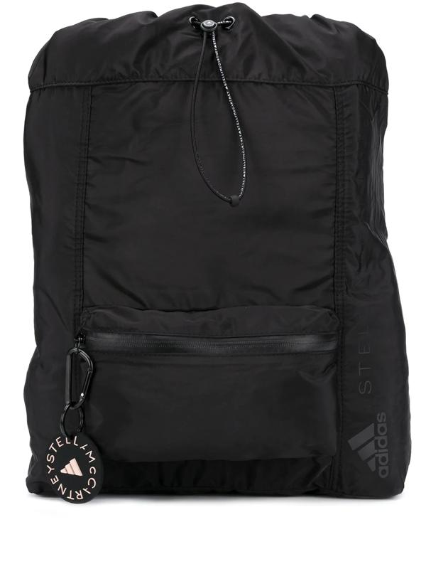 Adidas By Stella Mccartney Gym Sack In Black