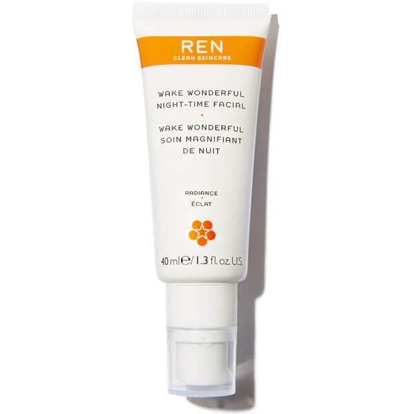 Ren Clean Skincare Ren Wake Wonderful Night-time Facial
