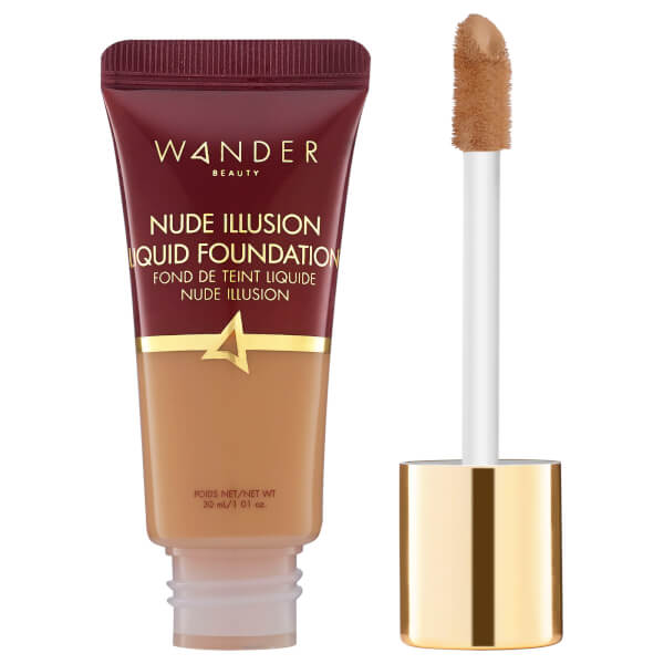 Wander Beauty Nude Illusion Liquid Foundation 1.01 oz (various Shades) - Golden Tan