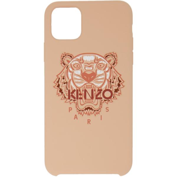 Kenzo Tiger Motif Iphone 11 Pro Max Case In 33 - Pastel