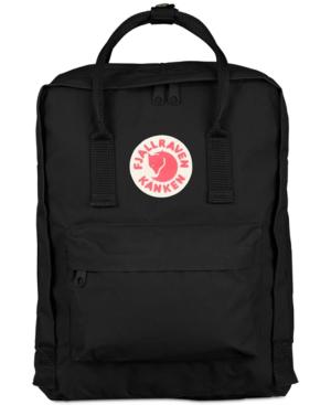 Fjall Raven Kanken Backpack In Black