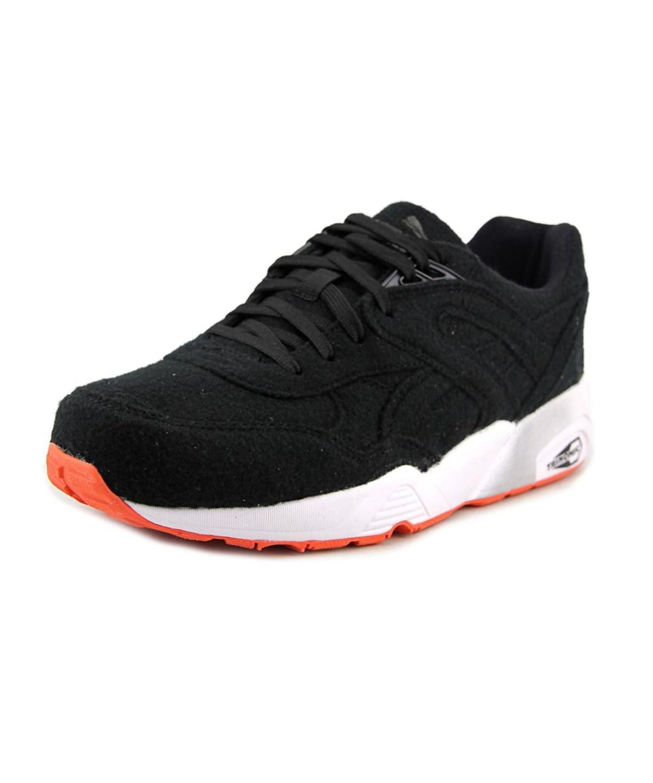 Puma Bright Men  Round Toe Canvas Black Sneakers
