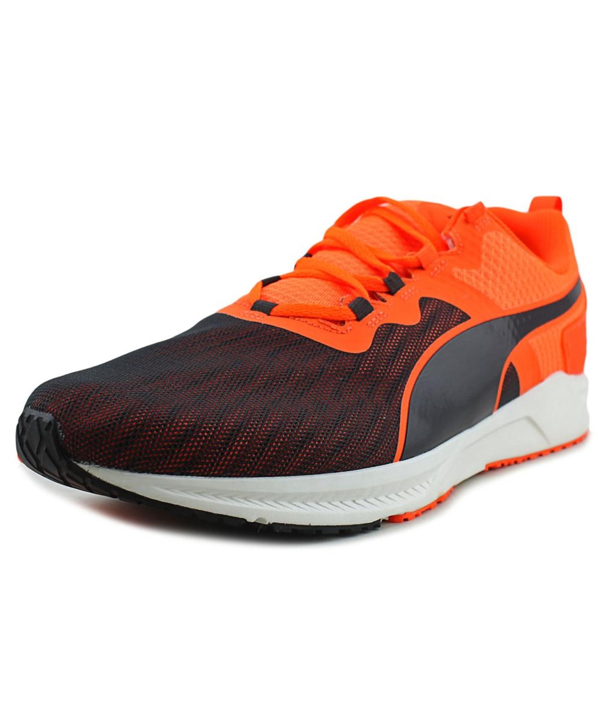 Puma Ignite V2 Men  Round Toe Synthetic Orange Running Shoe