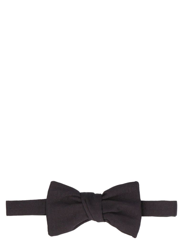 Givenchy Pre-tied Silk-satin Bow Tie In Black