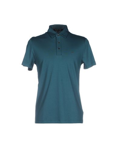 Michael Kors Polo Shirts In Deep Jade