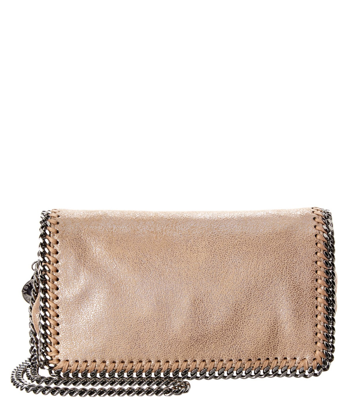 Stella Mccartney Falabella Chamois Crossbody In Yellow