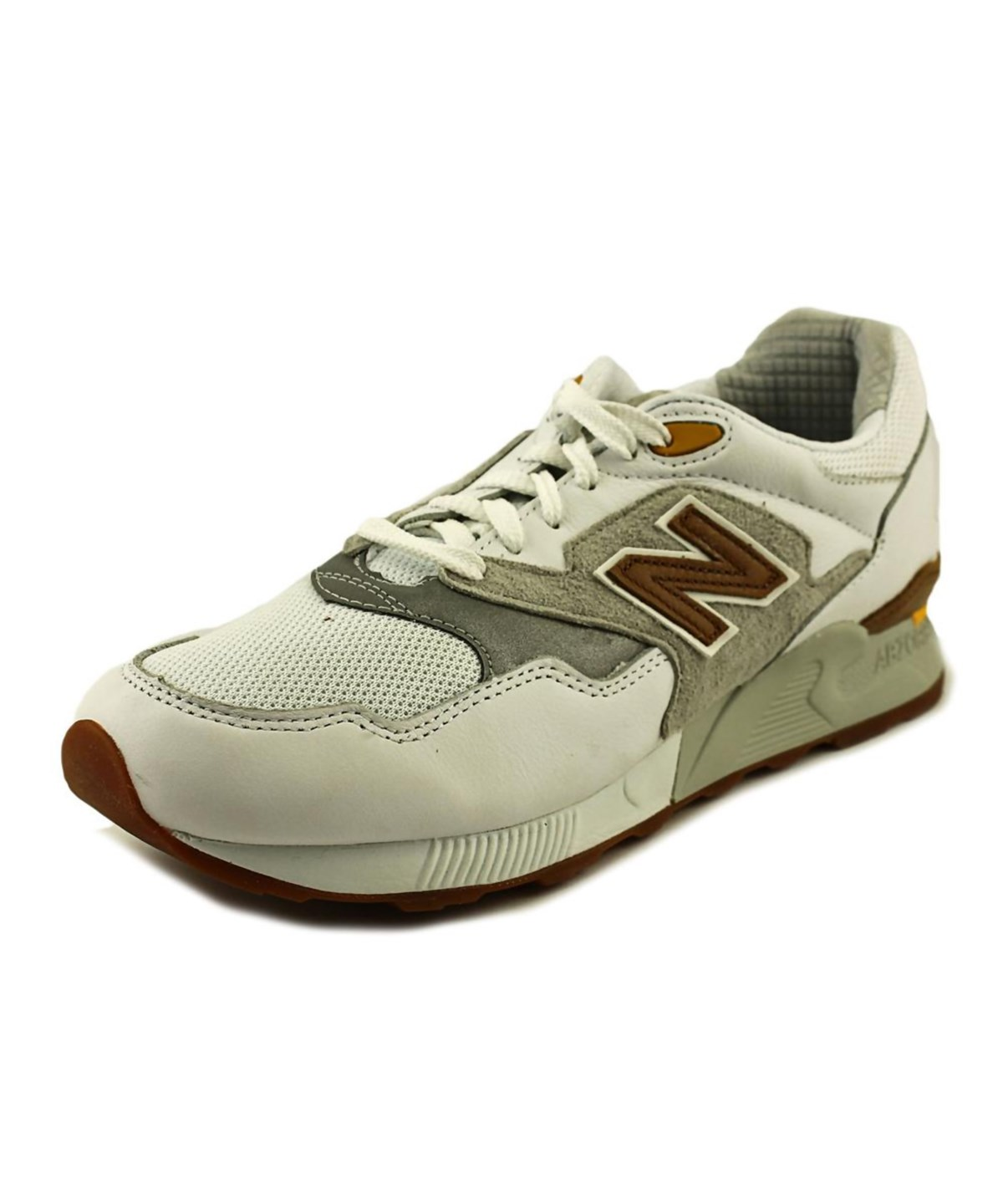 New Balance Ml878 Men  Round Toe Leather  Sneakers In White