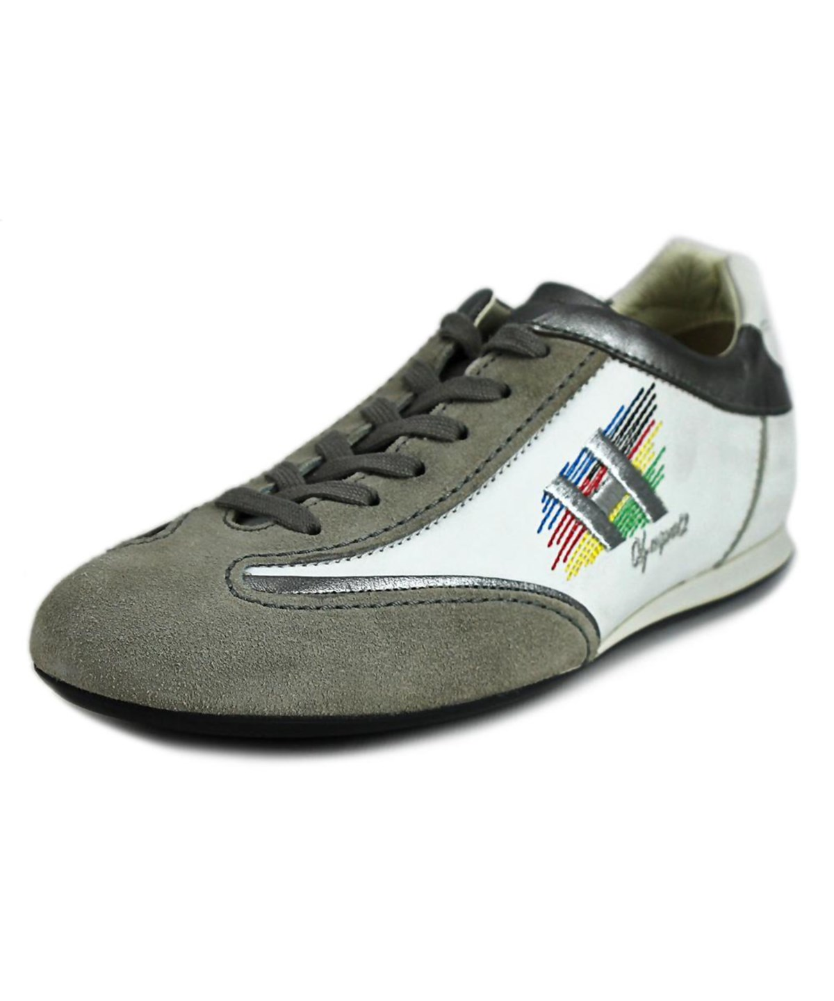 Hogan Olympia Ltd Edition Olimpiadi    Leather  Fashion Sneakers In White
