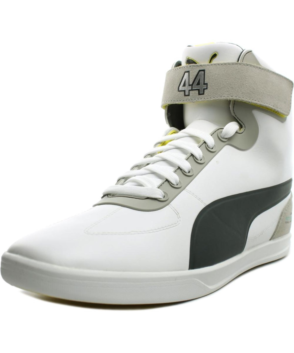 Puma Mamgp Upole Lewis   Round Toe Leather  Sneakers In White
