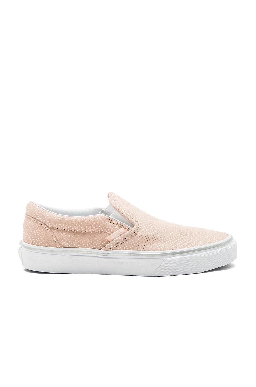 Vans Classic Slip-On Sneaker In Pink