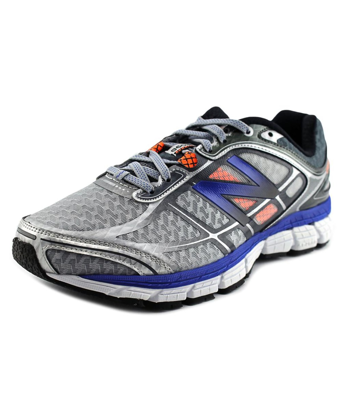 New Balance M860 Men  Round Toe Synthetic Gray Running Shoe In Grey