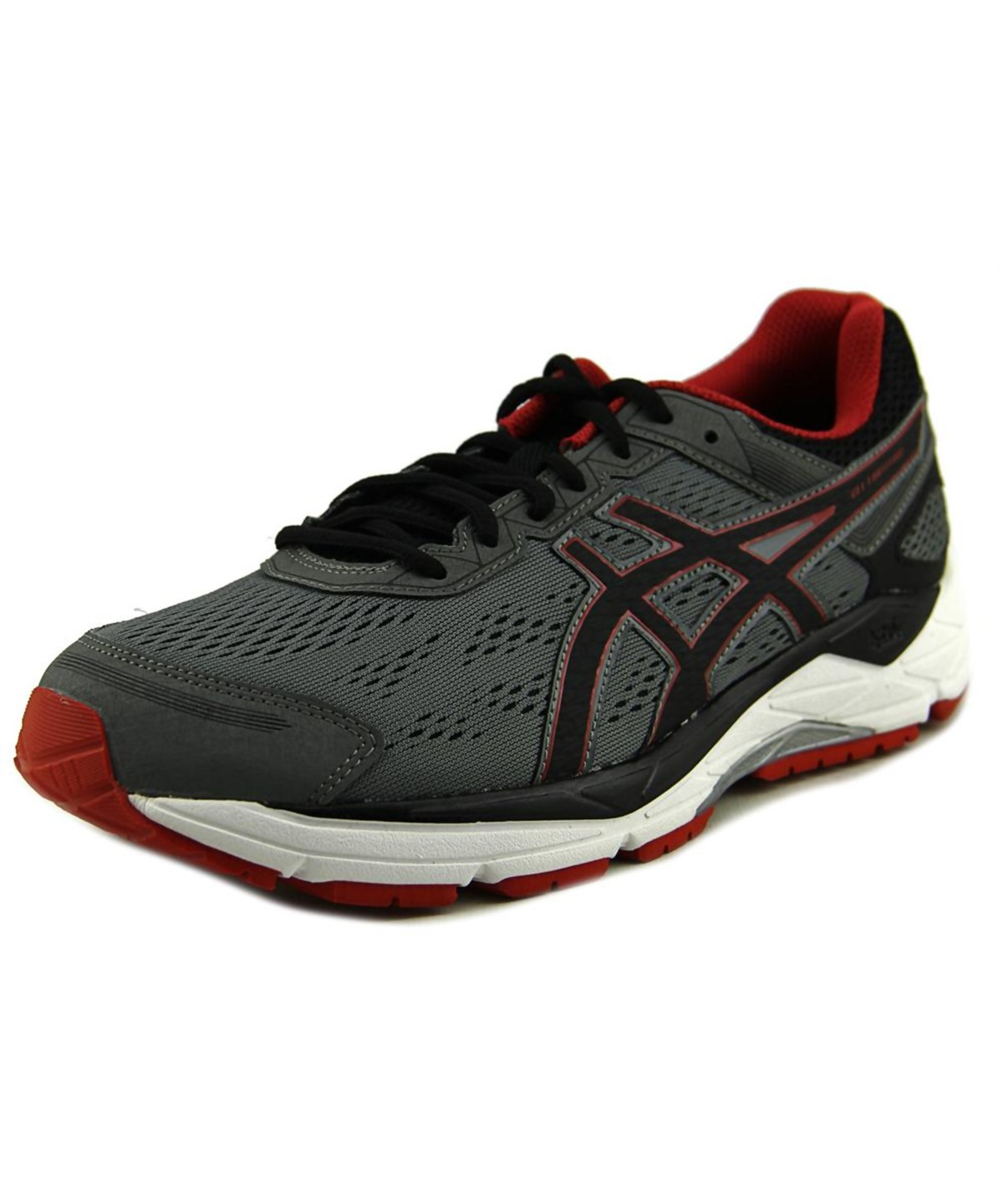 Asics Gel-Fortitude 7 Men  Round Toe Synthetic Gray Running Shoe In Grey