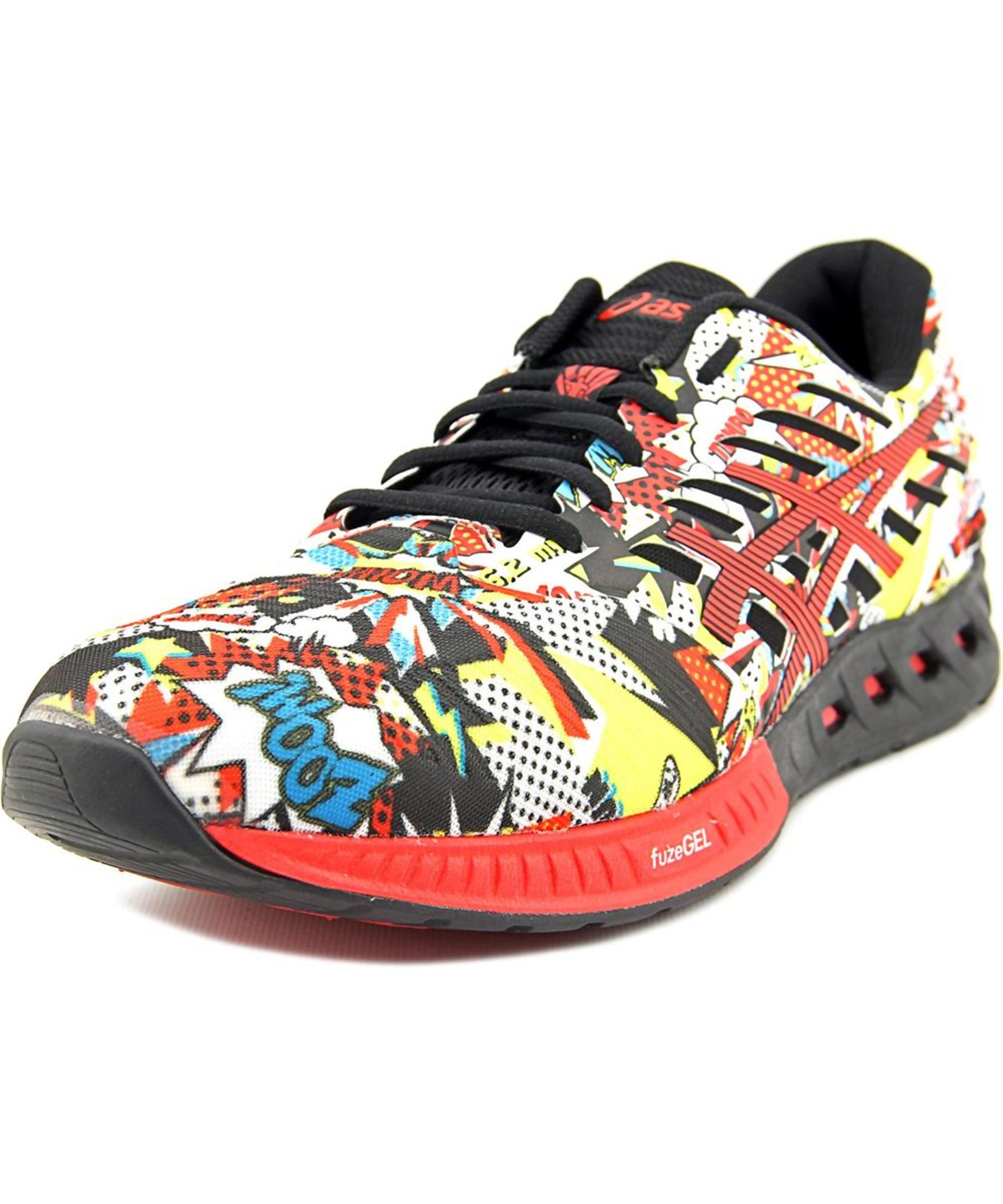Asics Fuzex Men  Round Toe Synthetic Multi Color Sneakers In Multiple Colors