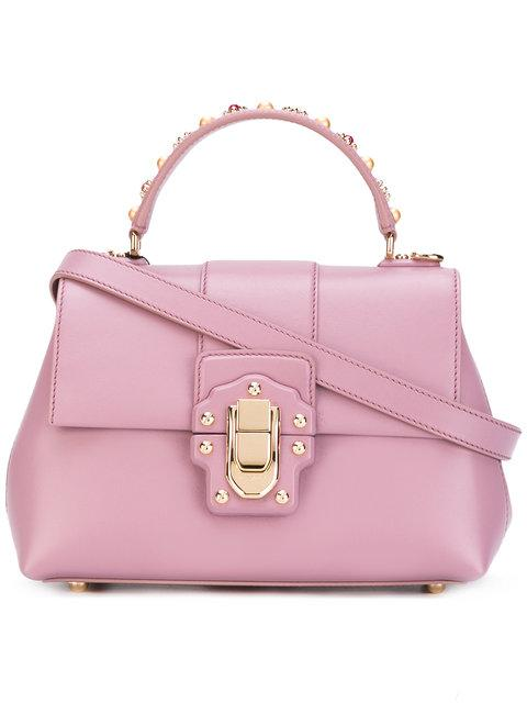 Dolce & Gabbana Lucia Tote - Pink