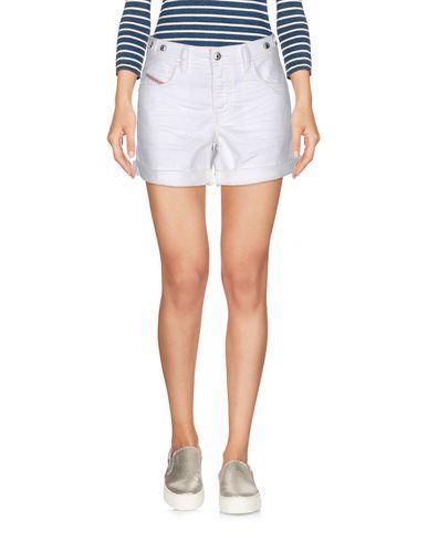 Diesel Denim Shorts In White