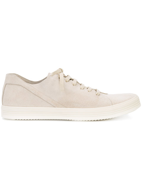 Rick Owens Lace-Up Trainers In Nude/Neutrals